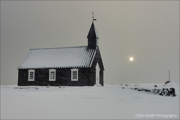 The Black Cheurch, Iceland