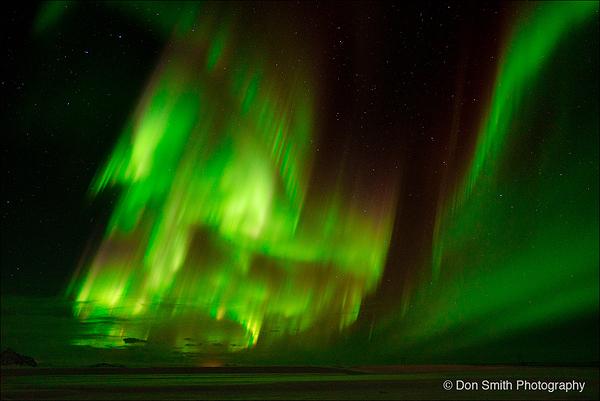 Dancing Sky, Aurora Borealis, Iceland