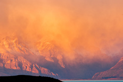 Lake Viedma and Andes Range, Patagonia