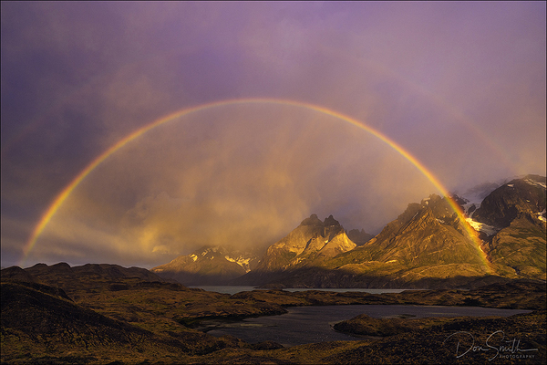 Double Rainbow, Torres del Paine National Park