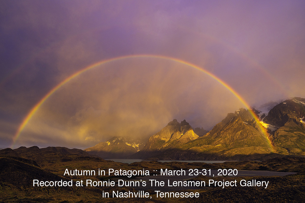 Autumn Patagonia March 2020 Workshop Announcement
