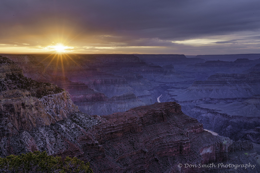 Hopi Point Sunset, Grand Canyon National Park