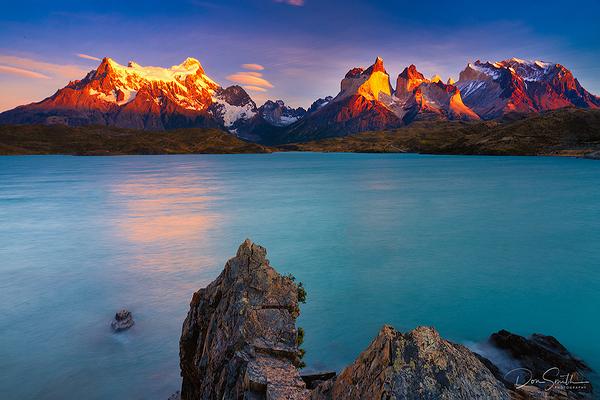 Lake Pehoe, Torres del Paine, Patagonia