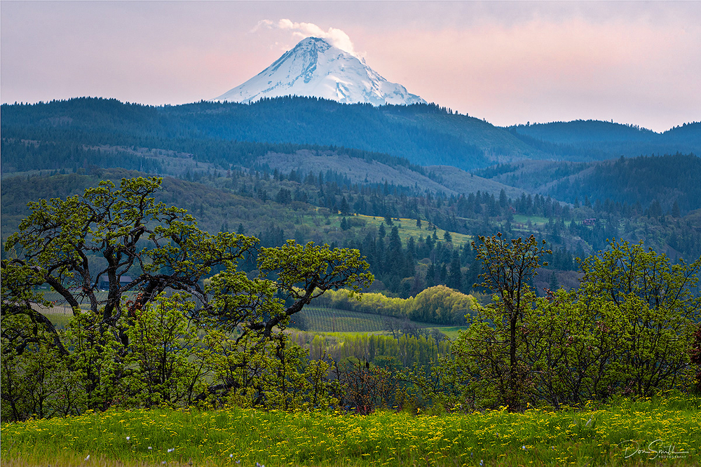 Mt. Hood and Hood River Valley, Oregon