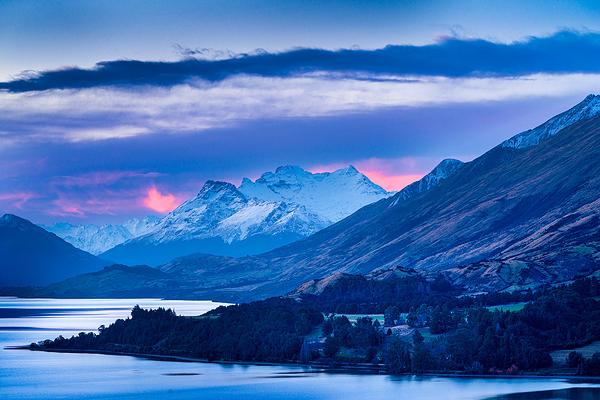 Dusk Sky Over Paradise, New Zealand