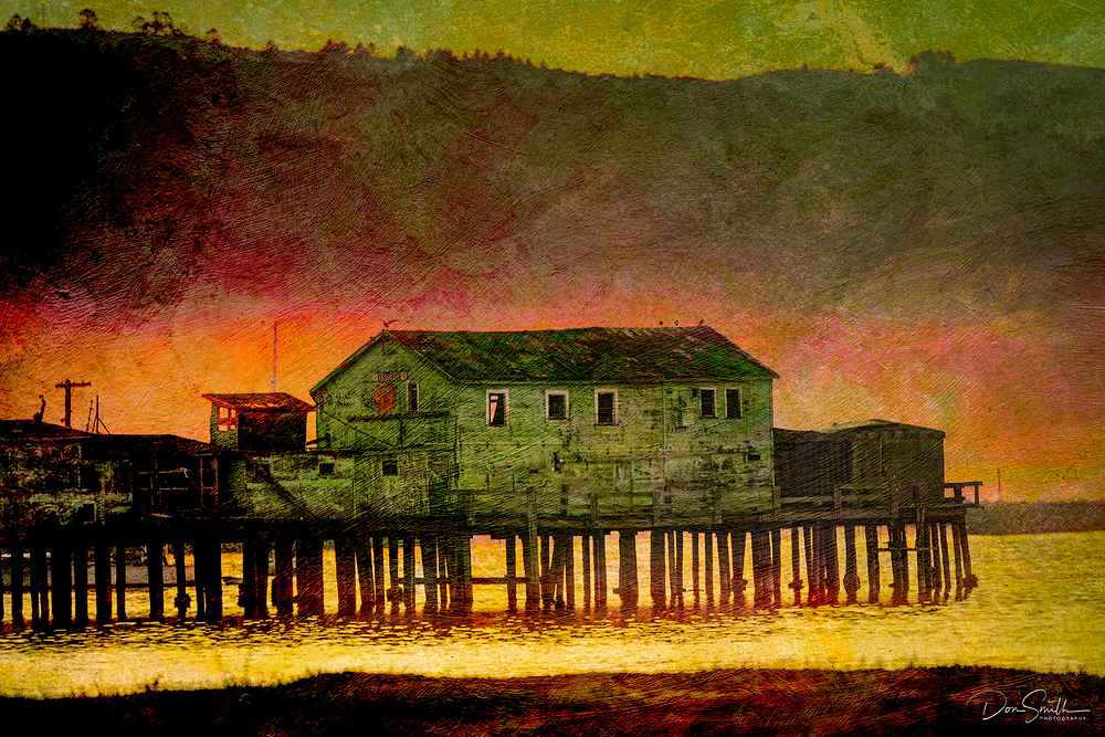 Old Wharf at Pillar Point, Half Moon Bay, CA