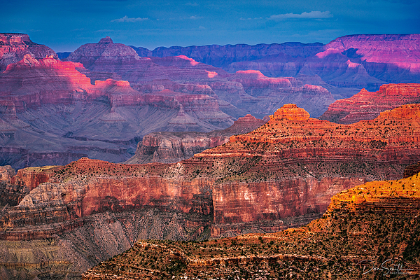 Last Light on Grand Canyon National Park