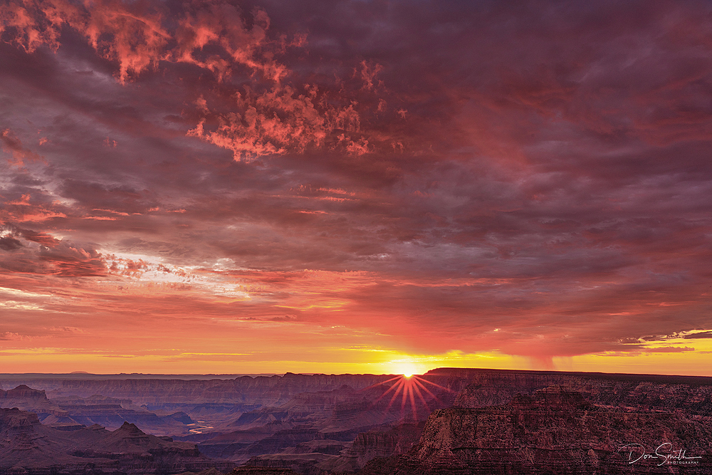Desert View Sunrise, Grand Canyon NP