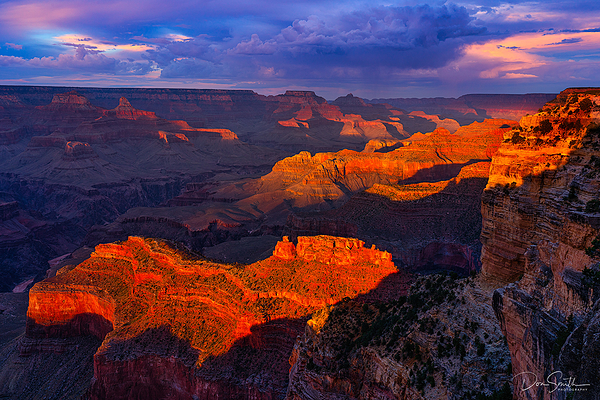 Sunset Light, Grand Canyon National Park