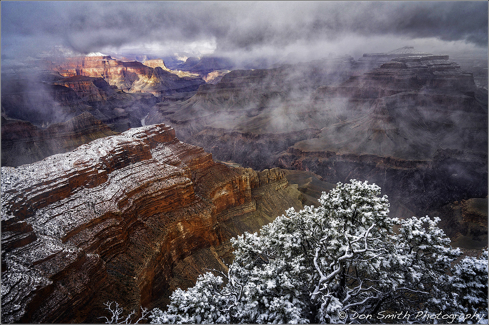 Winter at Grand Canyon National Park