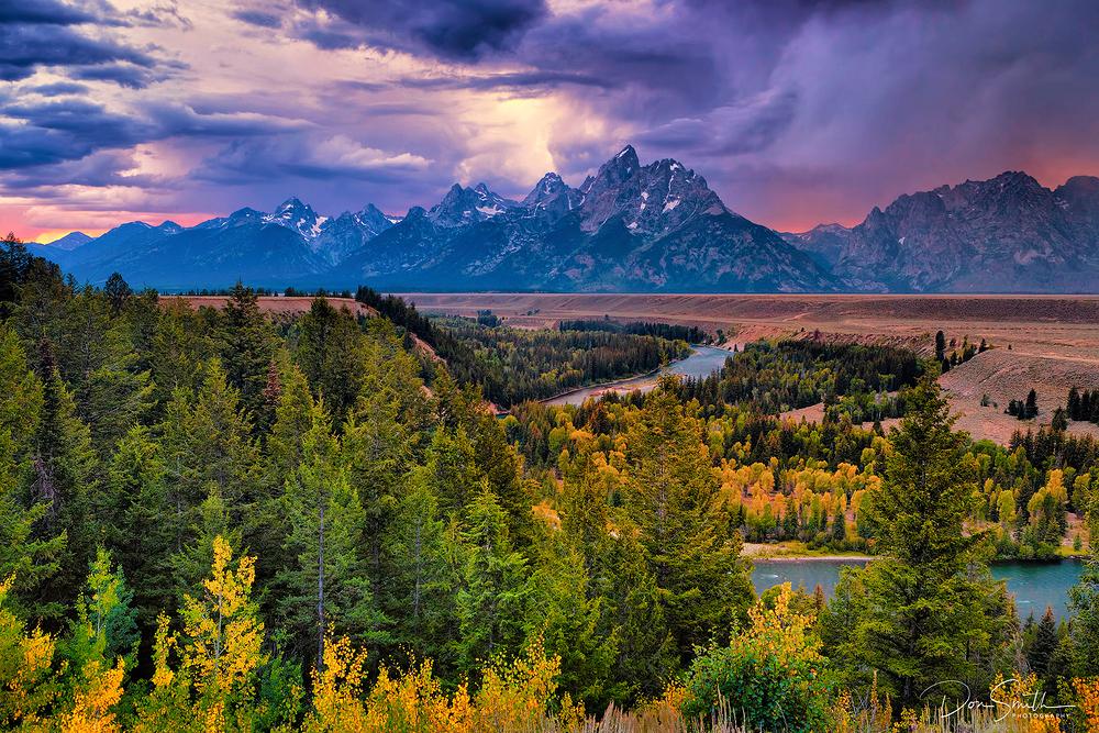 Snake River, Grand Teton NP, Wyoming