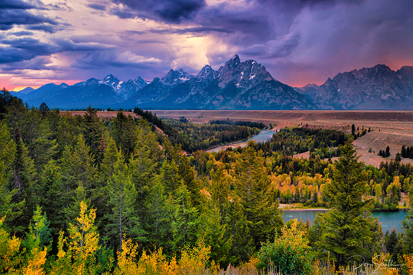 Snake River, Grand Teton NP, Wyoming