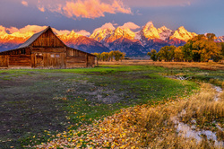 T.A.Moulten Barns, Grand Teton NP, Wyoming