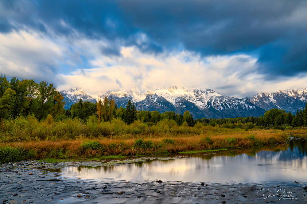 Early Morning at Schwabacher Landing, WY