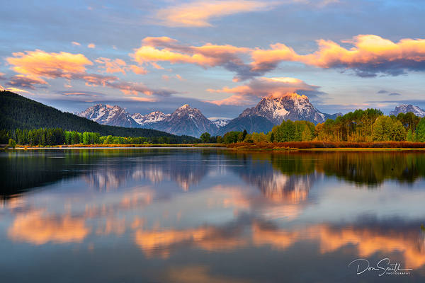 Early Morning at Oxbow Bend, Grand Teton