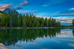 String Lake Sunset, Grand Tetons, Wyoming