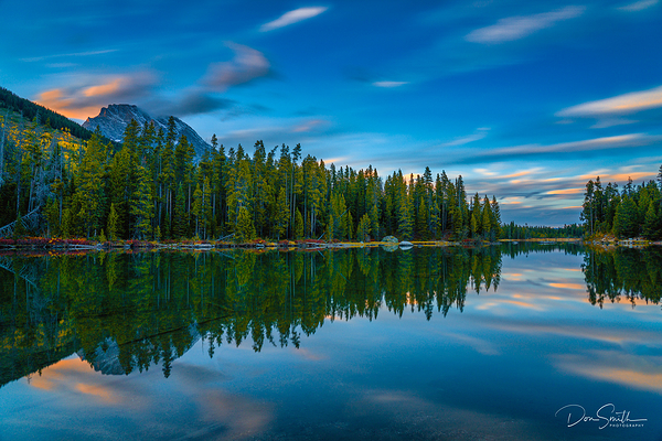 String Lake Sunset, Grand Tetons, Wyoming