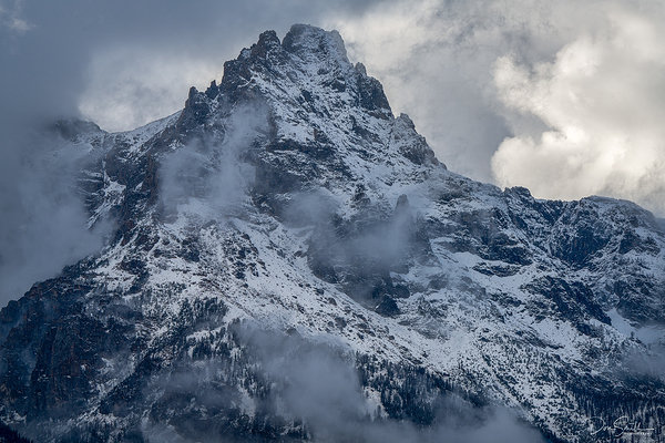 Grand Teton Peak, Grand Teton NP, Jackson Hole