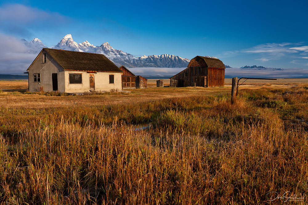 Mormon Row, Grand Teton National Park.