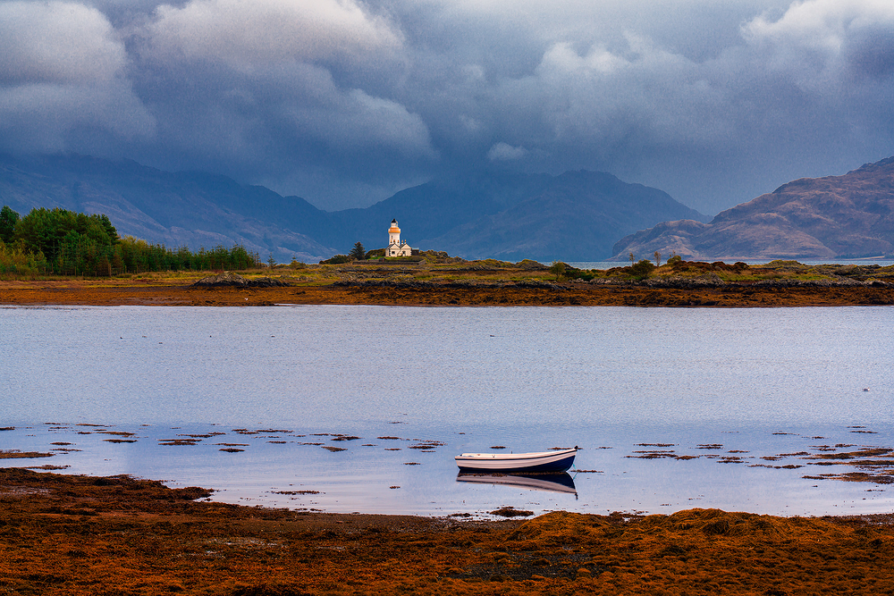 Isle Ornsay Lighthouse, Isle of Skye, Scotland