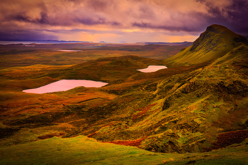 The Quirang, Isle of Skye, Scottish Highlands