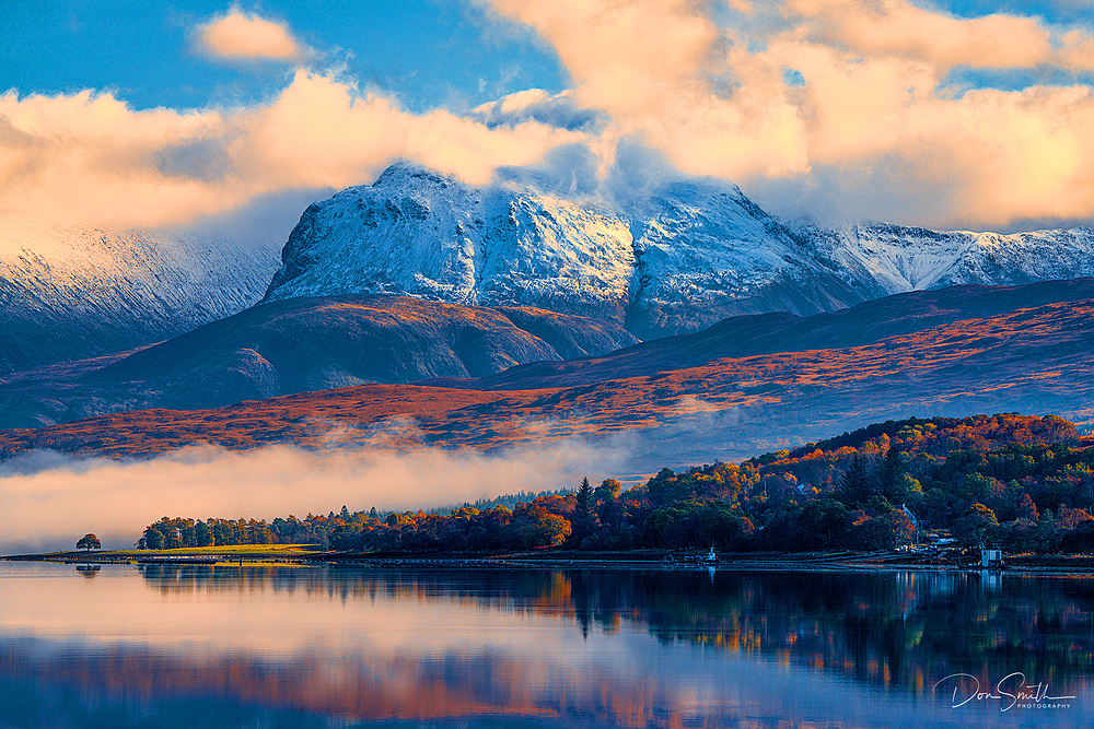 Loch Eil and Ben Nevis, Fort William, Scotland
