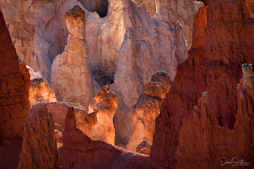 Alien Forms, Hoodoos, Bryce Canyon, Utah