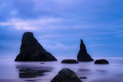 Bandon Beach Twilight, Bandon, Oregon