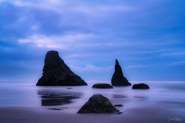 Bandon Beach Twilight, Bandon, Oregon