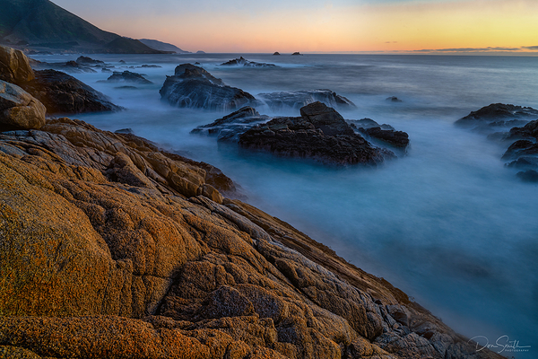 Dusk Light, Big Sur Coast