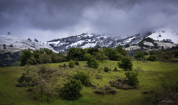 Snowy Hills, Central California