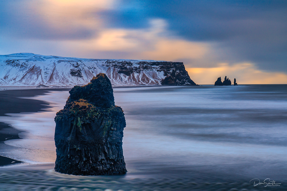 Winter Morning, Reynisfjara, Iceland