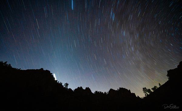 Star Trials Over Pinnacles' NP High Peaks