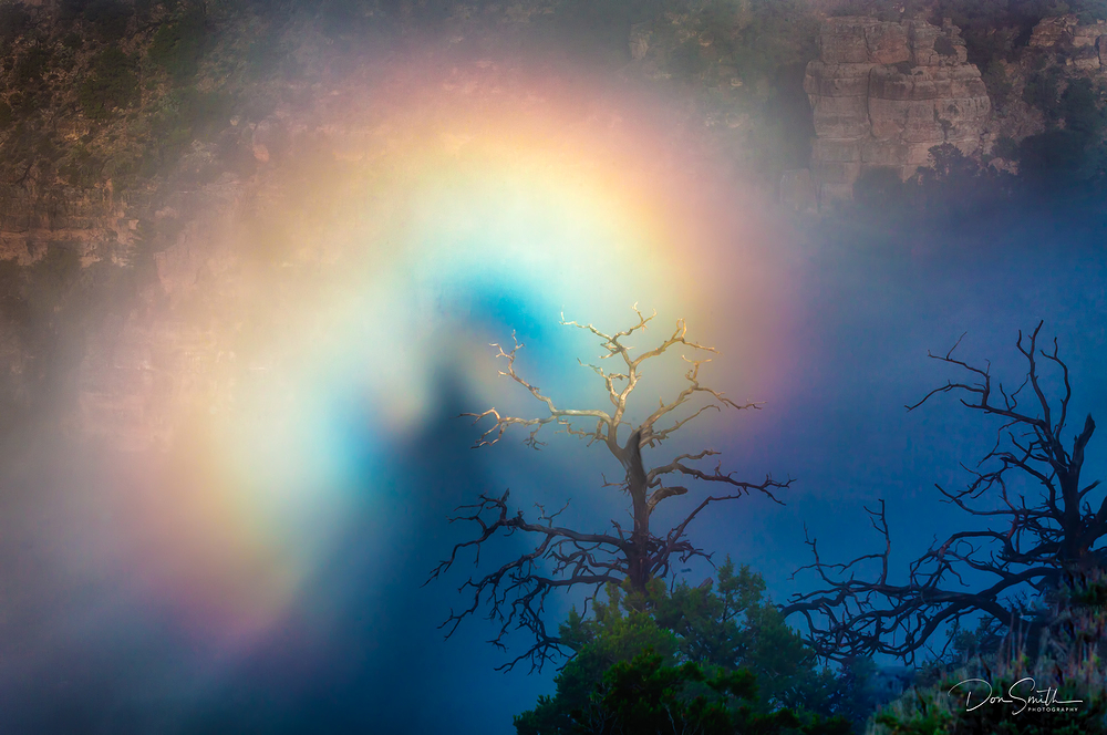 Brocken Specter, Grand Canyon NP, Arizona