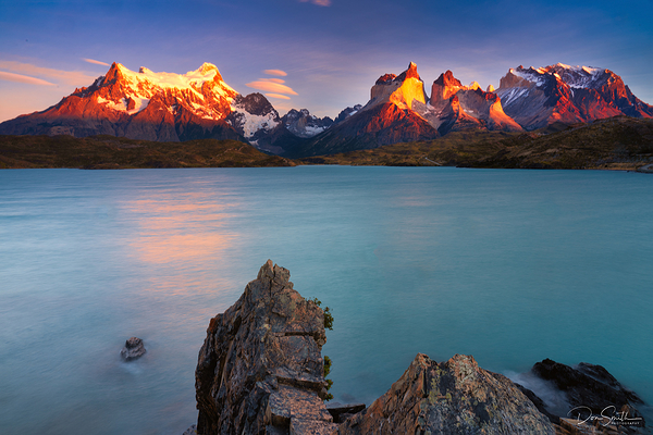 Torres del Paine and Lake Pehoe