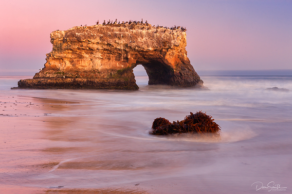 Natural Bridges Arch, Santa Cruz, California