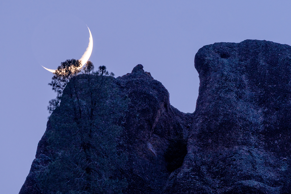 Setting Crescent, Pinnacles NP, California