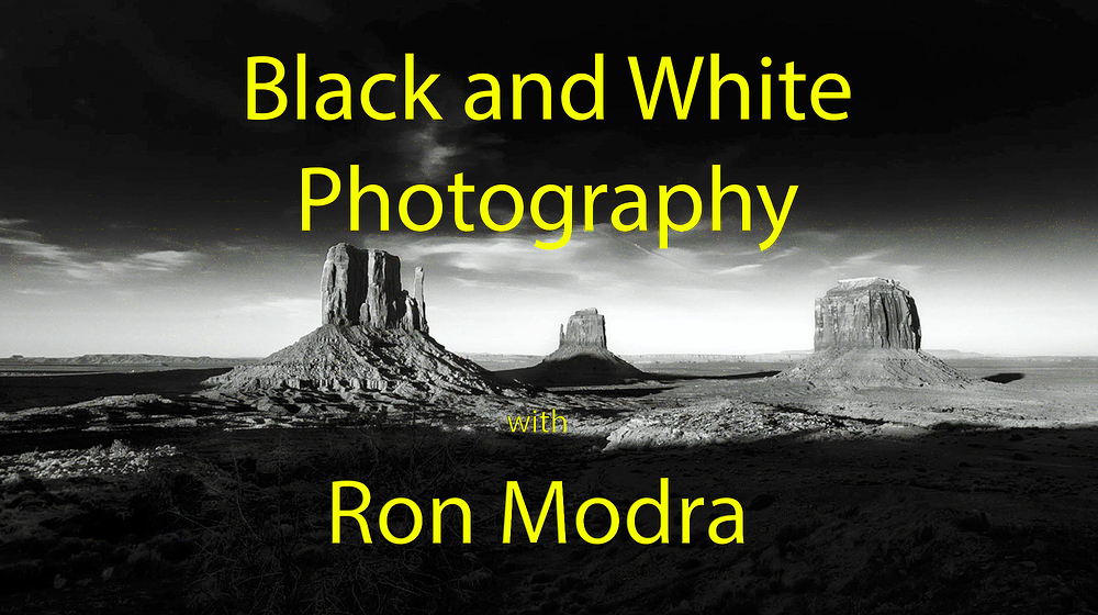 Ron Modra Black and White Imagery Video