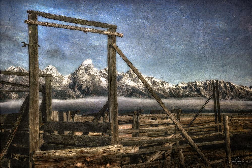 Old Corrals, Mormon Row, Grand Teton NP, Wyoming