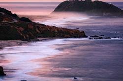 Dawn Sky Over Pt. Sur Lightstation, Big Sur Coast