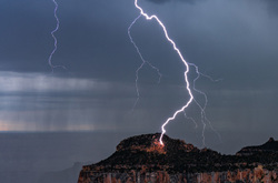 Lightning Strike, Grand Canyon National Park