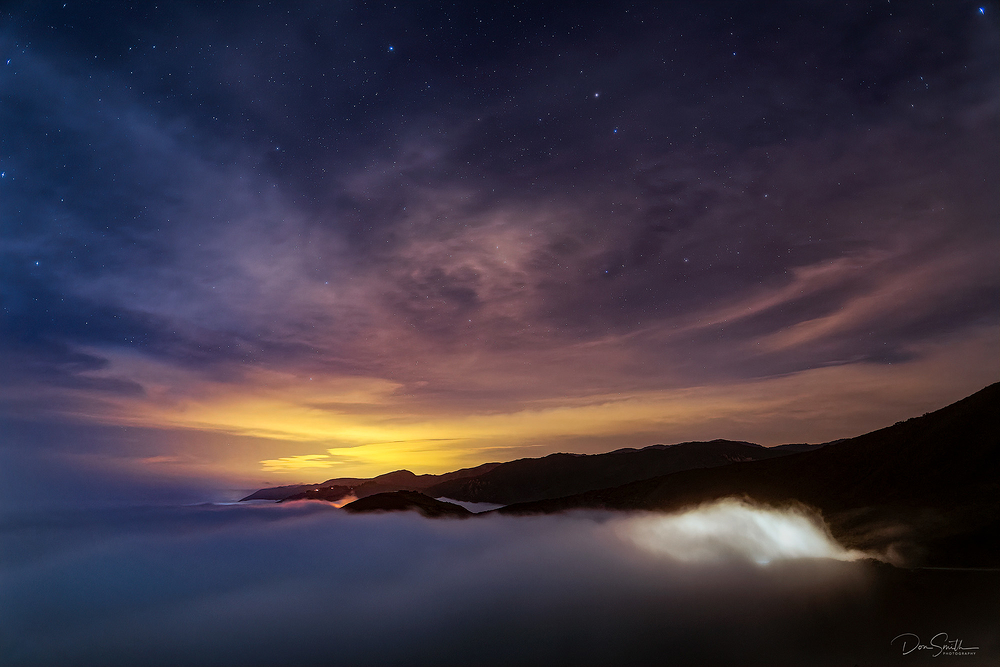 Summer Fog, Big Sur Coast, California