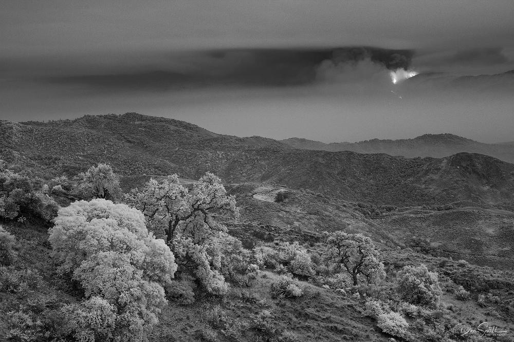 River Fire, Salinas, California IR