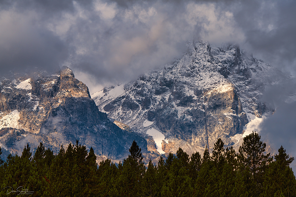 Clearing Fall Snow Storm, Grand Teton NP