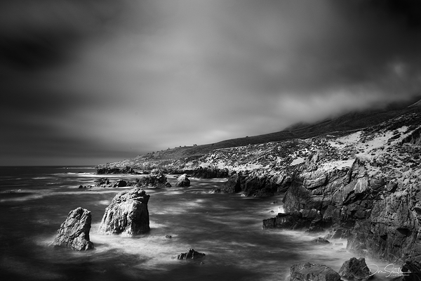 Big Sur Coast in 720nm IR