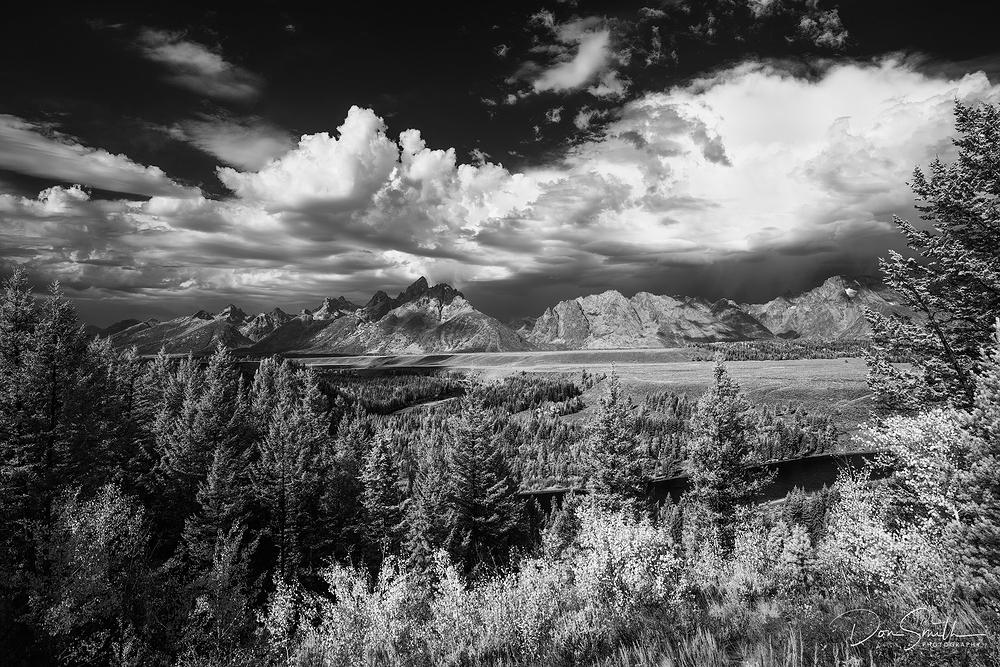 Snake River Overlook in IR, Grand Teton