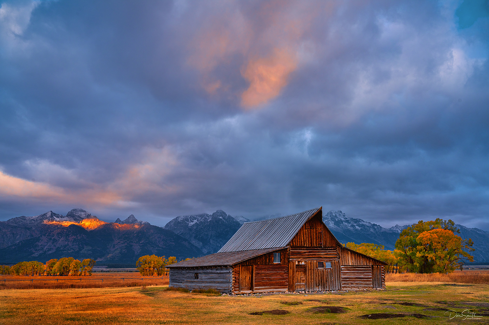 Sunrise at America's Most Photographed Barn