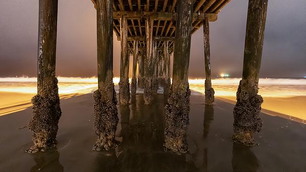 Underneath Avila Beach Pier with Sony a7SIII
