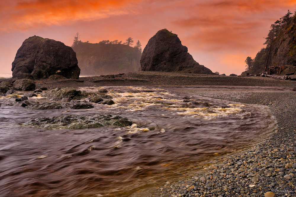 Ruby Beach, Olympic Peninsula, Washington