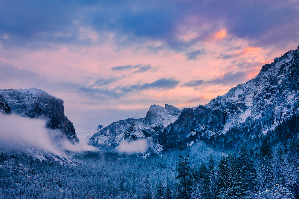 Clearing Storm at Daybreak - Yosemite NP